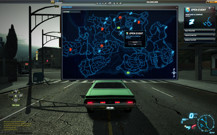 Car Classes - События и Матчмейкинг